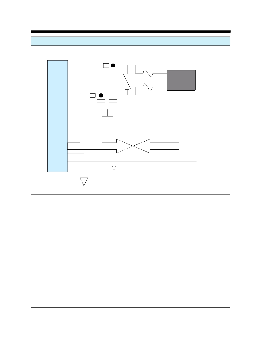 Cermetek Microelectronics Inc Telephone Line Interface Device Rj11 Wiring Diagram Duplex Operation Typical Connections For North America And Japan