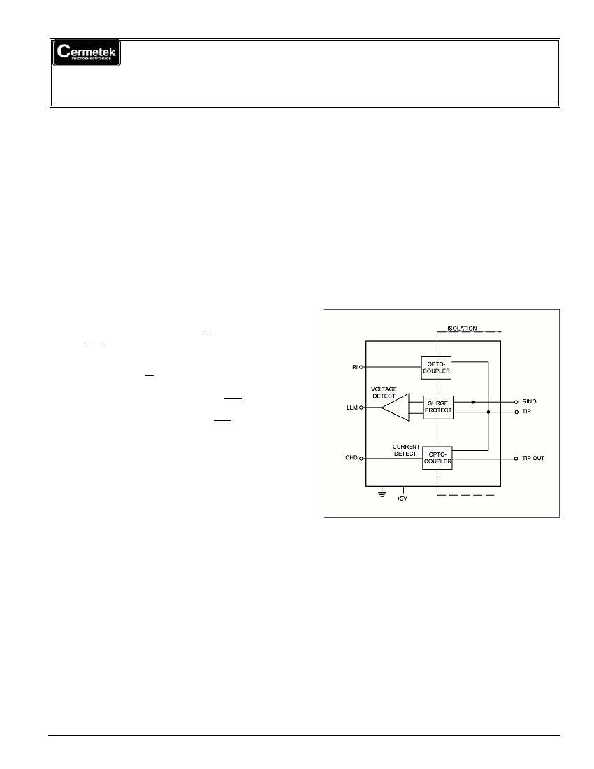 cermetek datasheet for product   ch1808 607