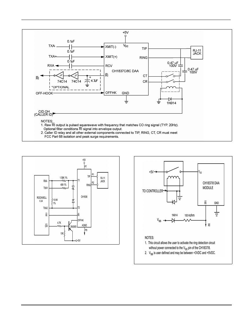 Cermetek Microelectronics Inc Telephone Line Interface Device Hybrid Circuit Document No 607 0010 Revision Q 08 04