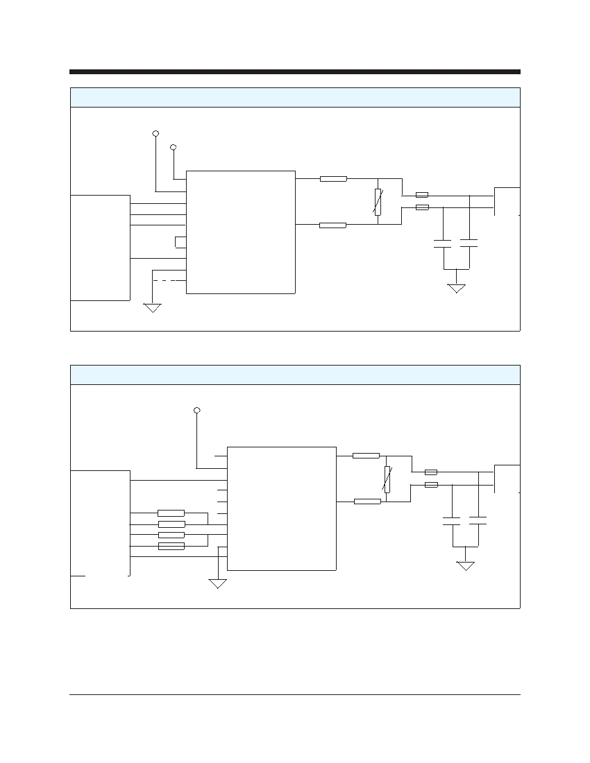 Cermetek Microelectronics Inc Telephone Line Interface Device 4 Wire Diagram Xe0002d Typical Connection With Internal 2 Converter