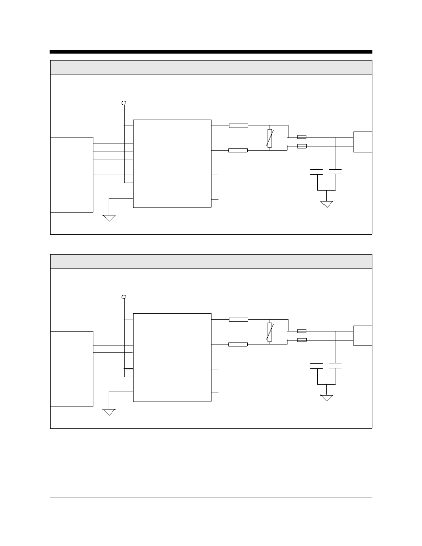 Cermetek Microelectronics Inc Telephone Line Interface Device 2 Phone Wiring Diagram Xe0204 Typical Connection For A Wire Dial Up