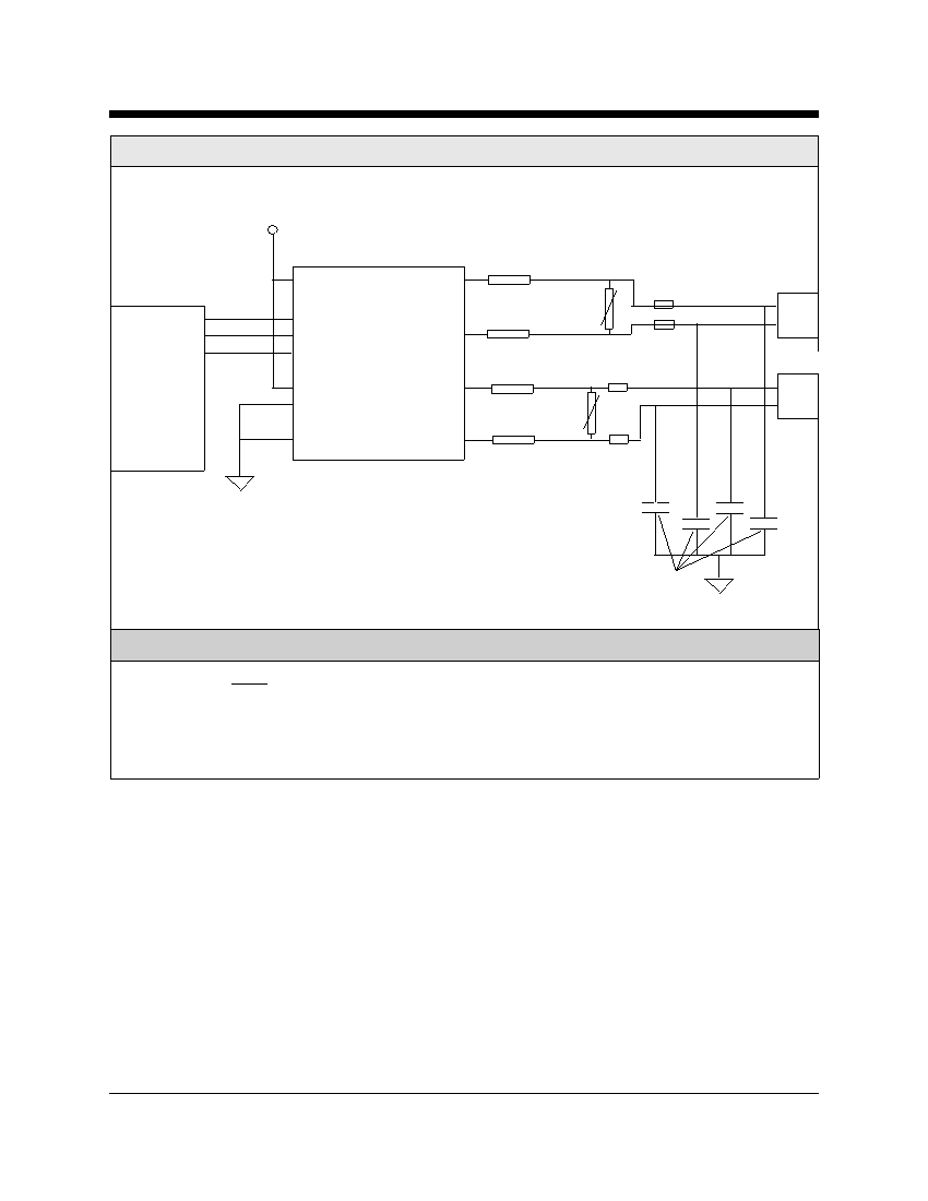 cermetek microelectronics inc telephone line interface device xe0204 typical connection diagram for a 4 wire leased line